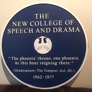 Venue for Reunion of Students and Professors New College Speech and Drama